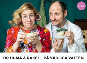 Doktor Duma & Rakel - På vådliga vatten