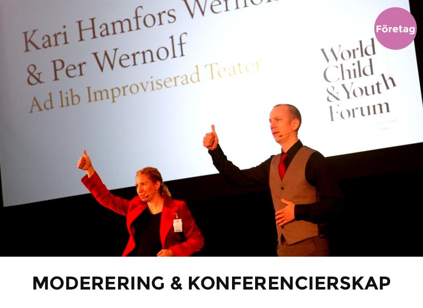Moderering & Konferencierskap